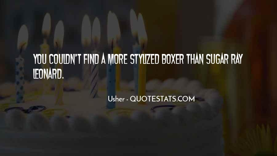 Usher Quotes #1700665