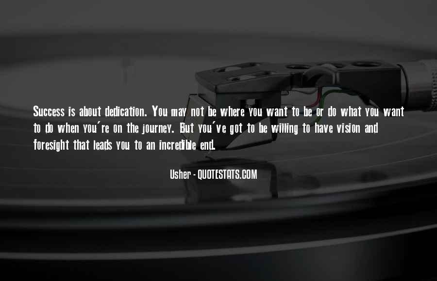 Usher Quotes #388907