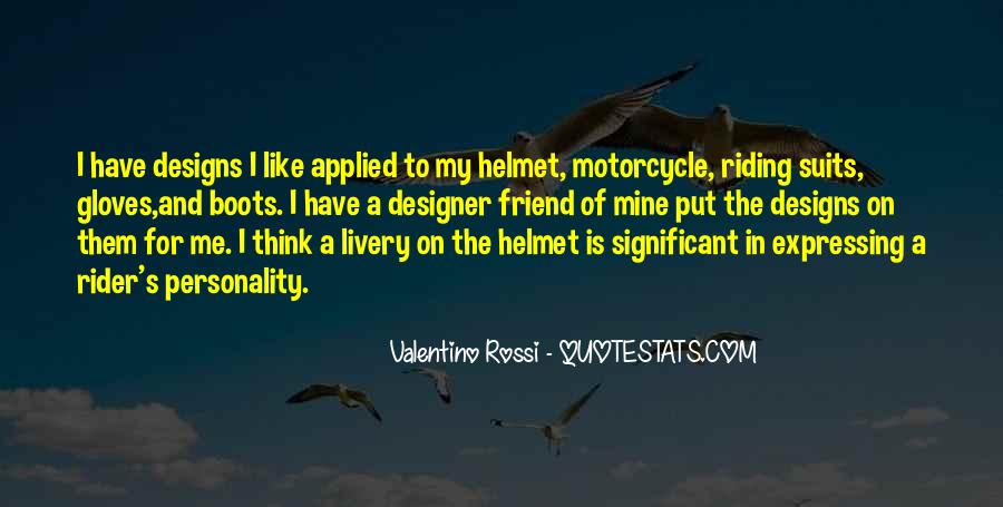 Valentino Rossi Quotes #145132