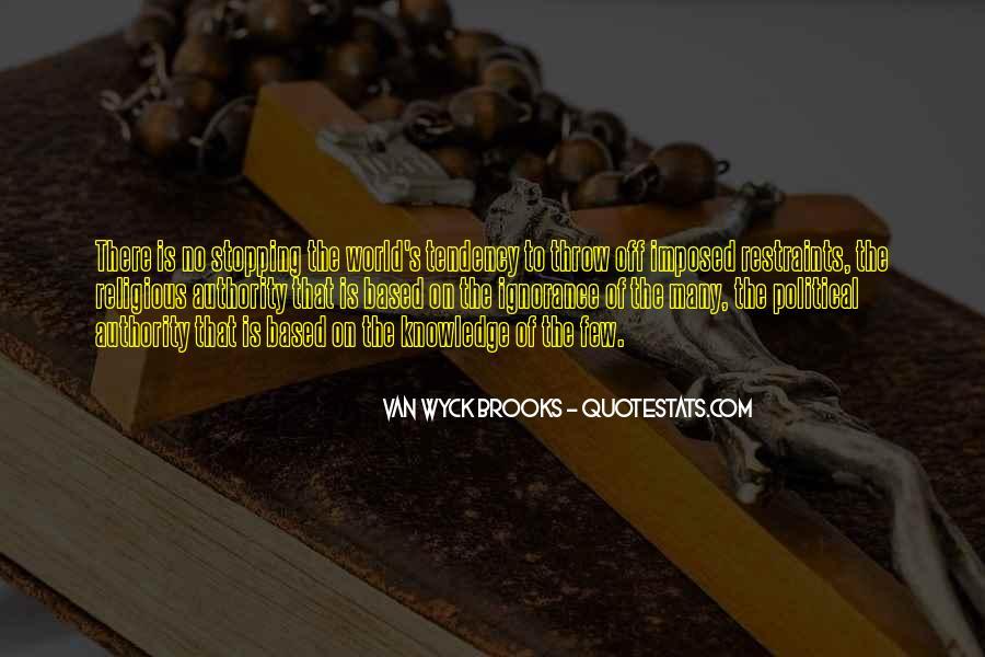 Van Wyck Brooks Quotes #1145192
