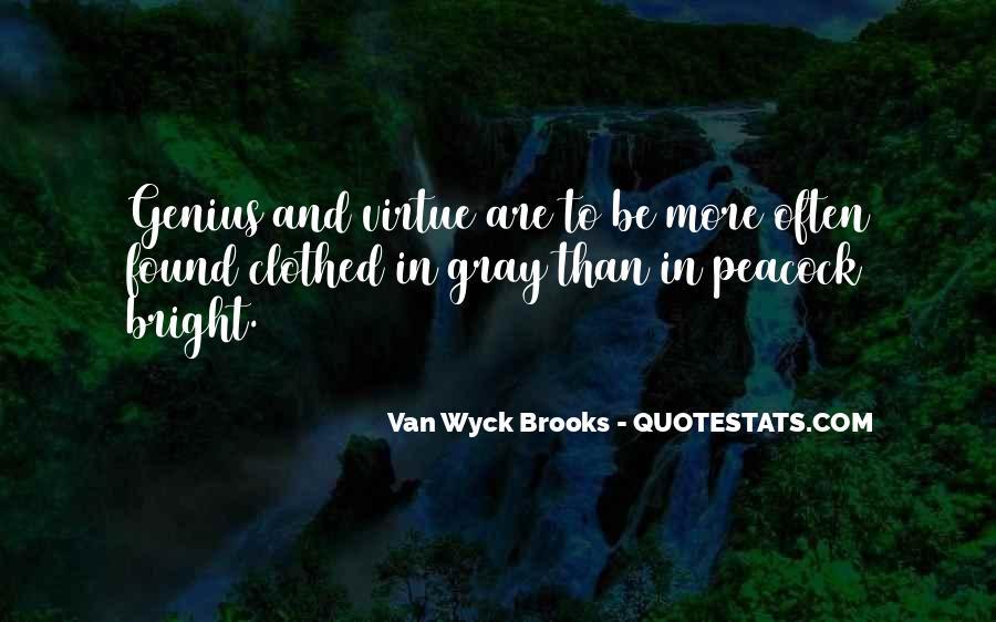 Van Wyck Brooks Quotes #154007