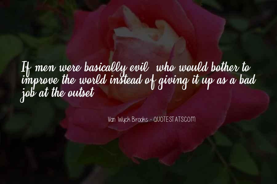 Van Wyck Brooks Quotes #1802421