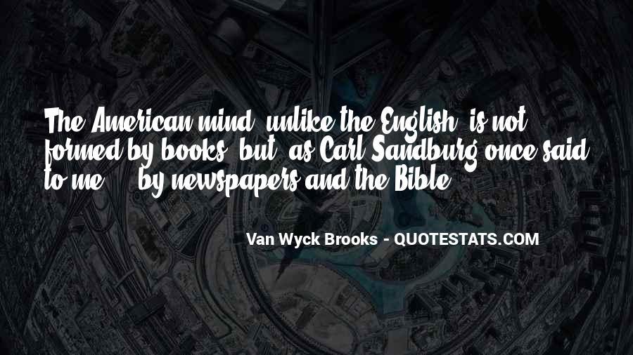 Van Wyck Brooks Quotes #278609
