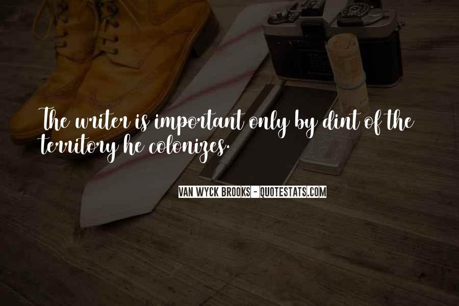 Van Wyck Brooks Quotes #999223