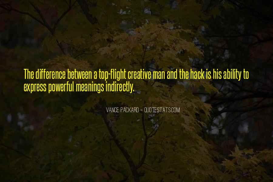 Vance Packard Quotes #393395