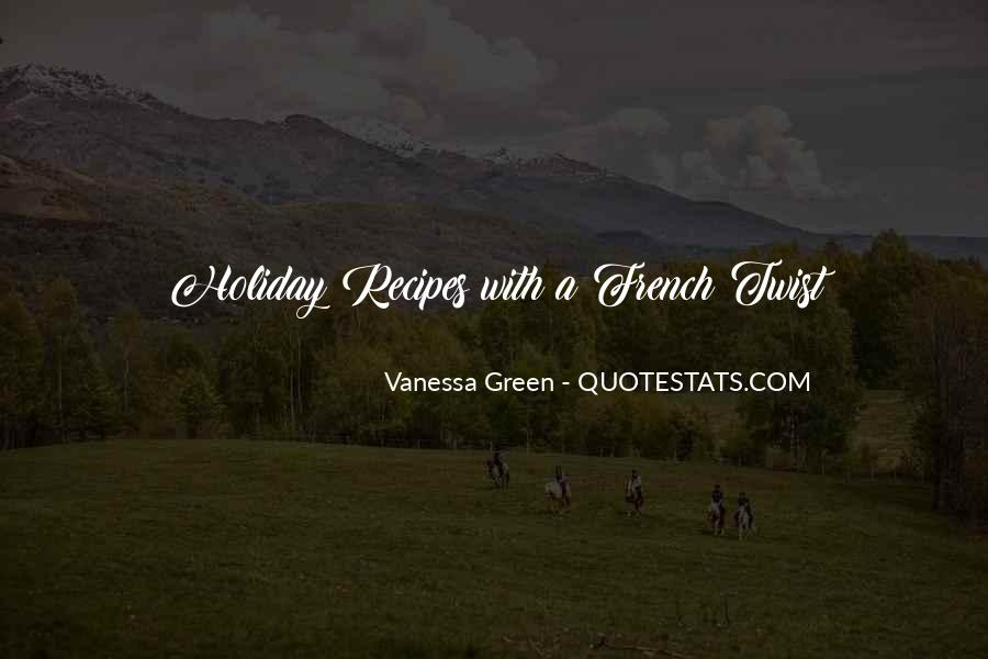Vanessa Green Quotes #1491887