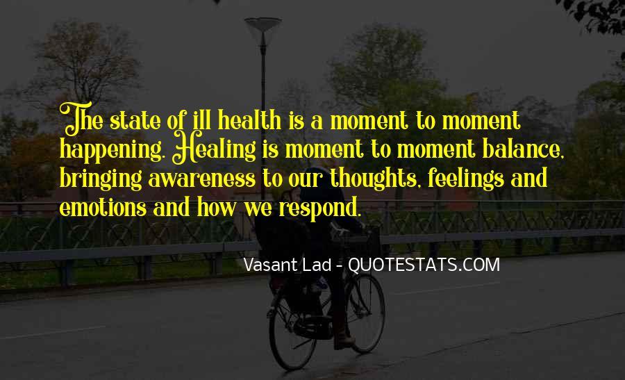 Vasant Lad Quotes #290705