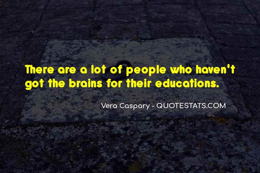 Vera Caspary Quotes #193086