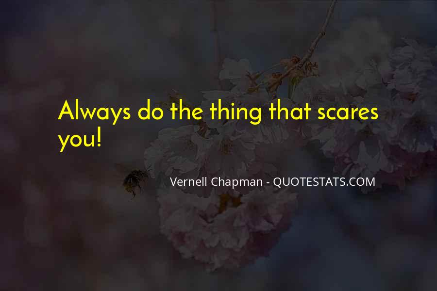 Vernell Chapman Quotes #1292306