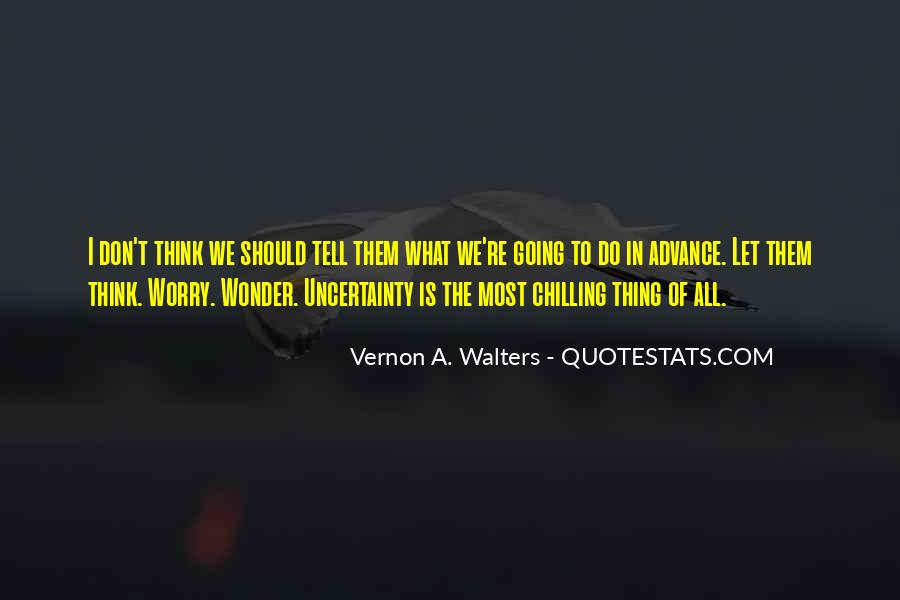 Vernon A. Walters Quotes #283975