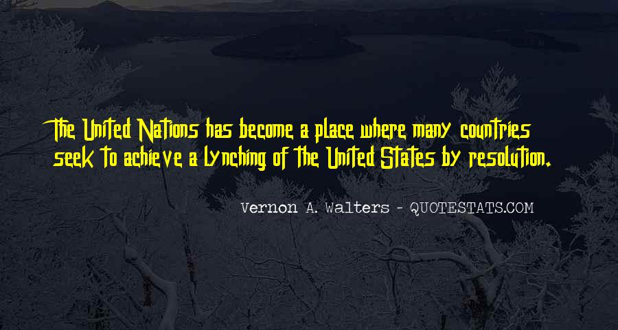 Vernon A. Walters Quotes #859027