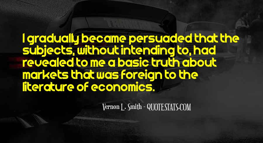 Vernon L. Smith Quotes #1871549