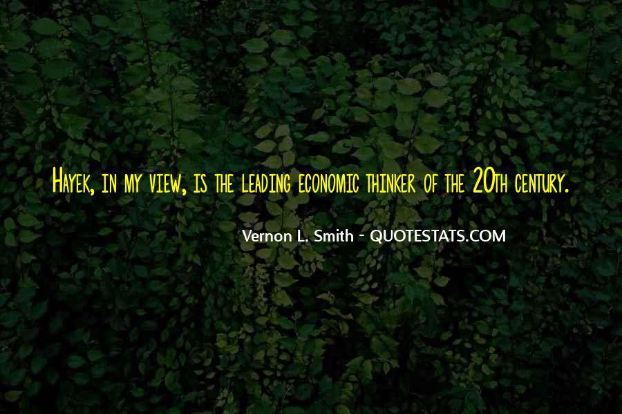 Vernon L. Smith Quotes #89503