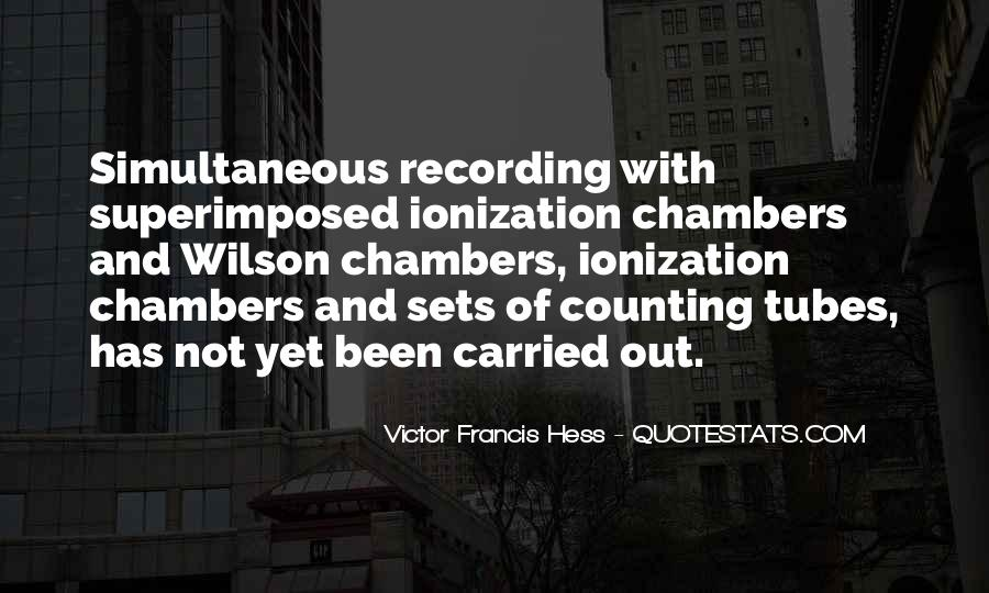 Victor Francis Hess Quotes #1175187