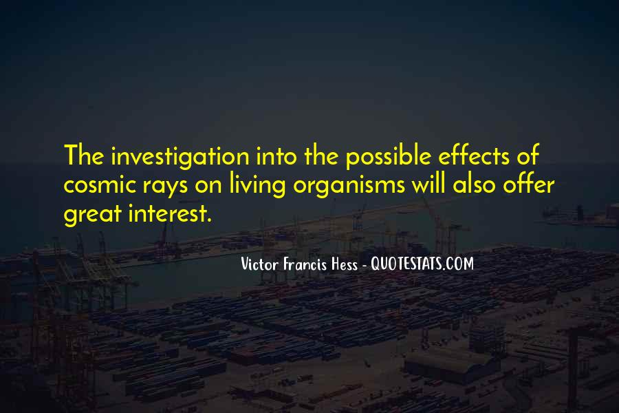 Victor Francis Hess Quotes #97734
