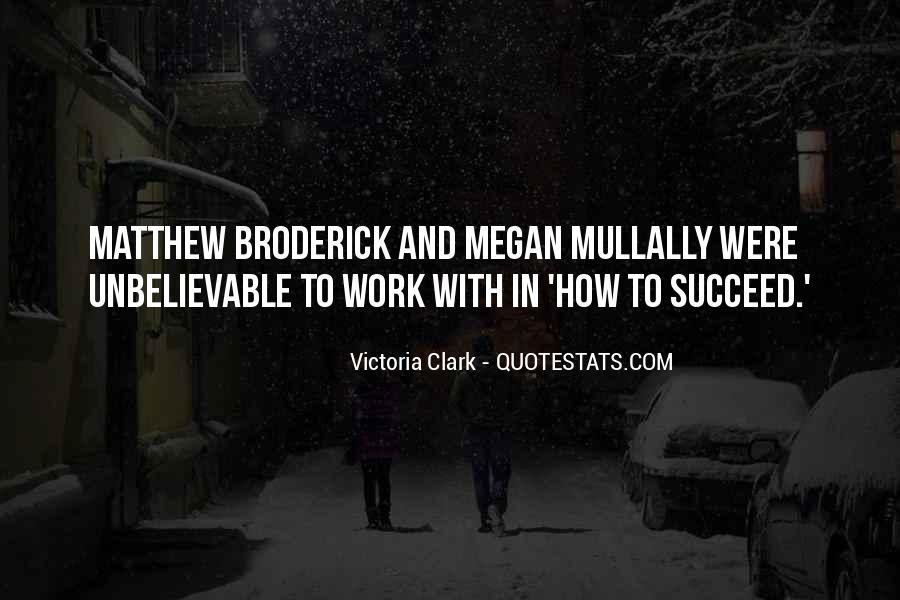 Victoria Clark Quotes #1213018