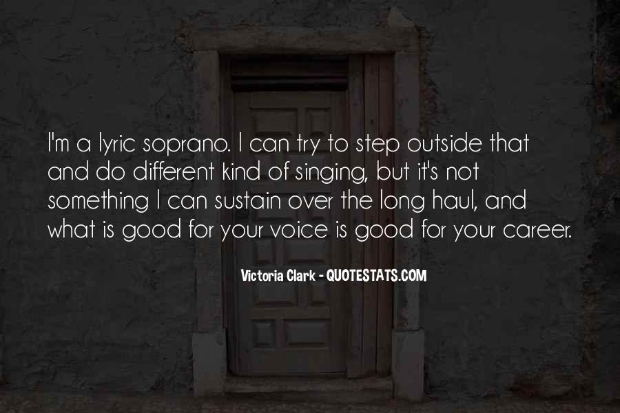 Victoria Clark Quotes #325398