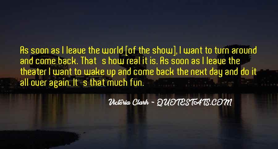 Victoria Clark Quotes #379845
