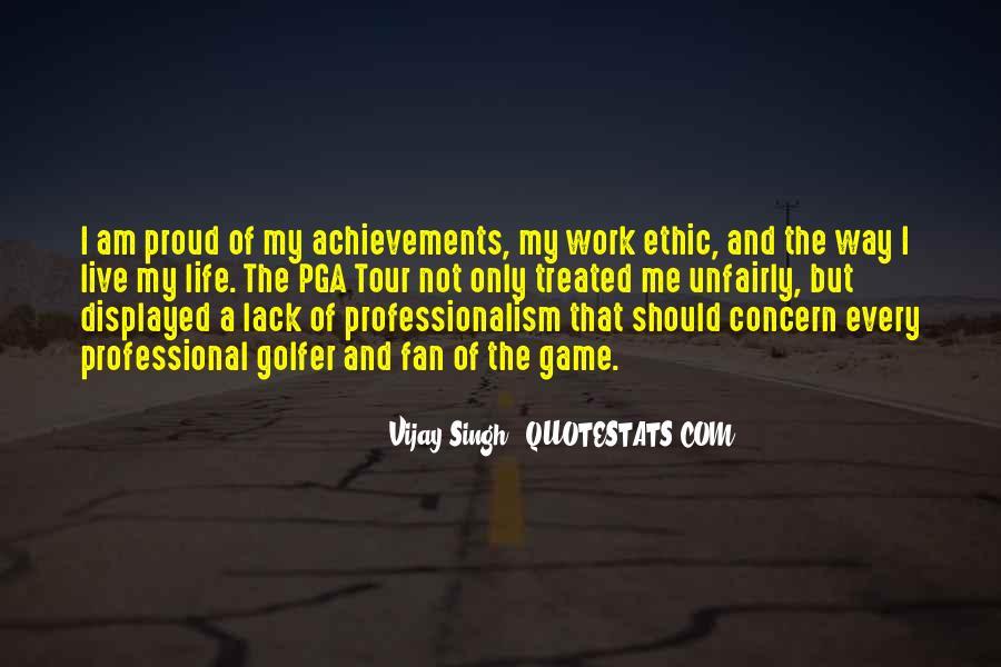 Vijay Singh Quotes #1601040