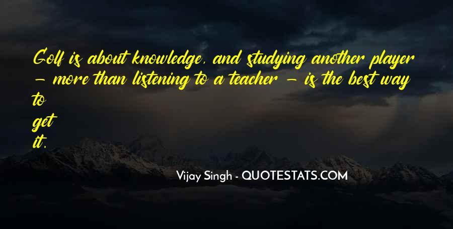 Vijay Singh Quotes #471850
