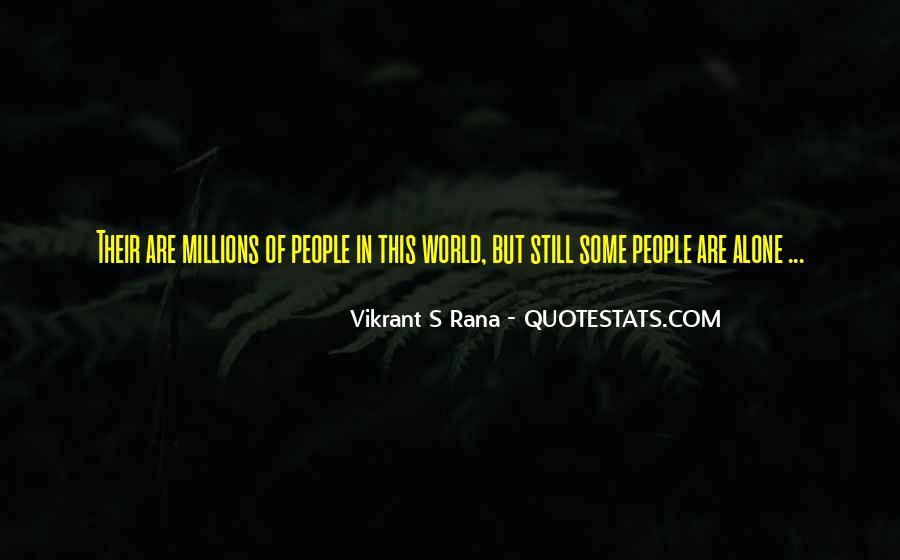 Vikrant S Rana Quotes #647153