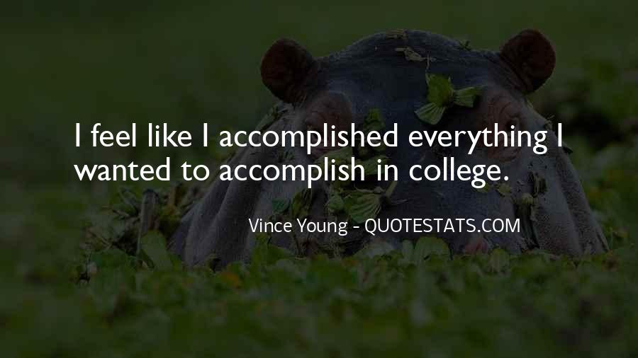 Vince Young Quotes #92379