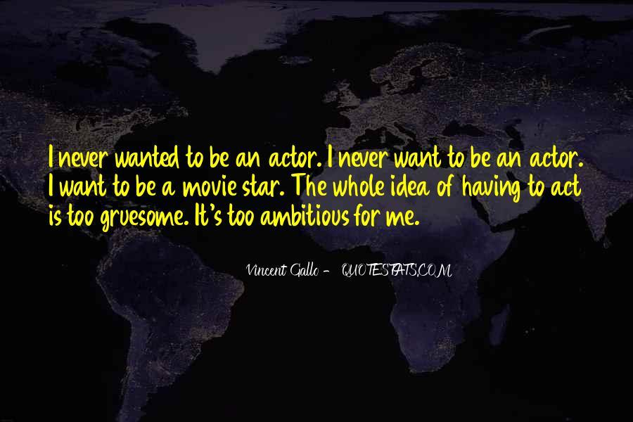 Vincent Gallo Quotes #623793