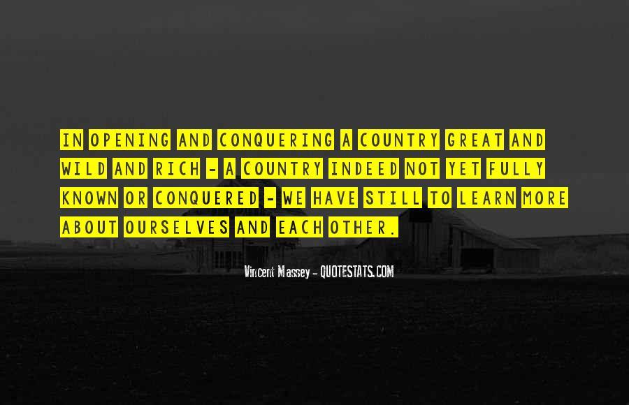 Vincent Massey Quotes #315844