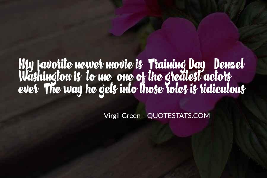 Virgil Green Quotes #1414720