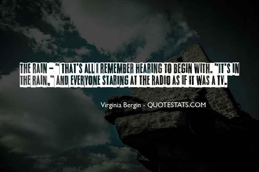 Virginia Bergin Quotes #1503361