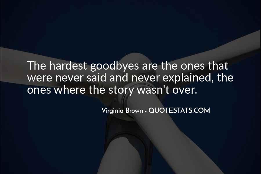 Virginia Brown Quotes #1782415