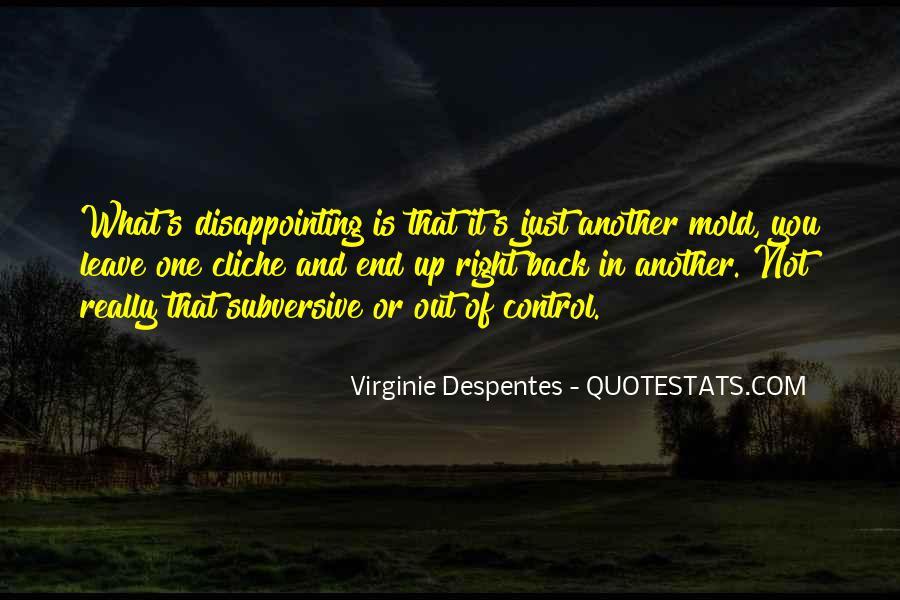Virginie Despentes Quotes #658940
