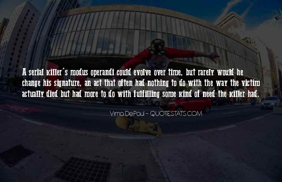 Virna DePaul Quotes #167033