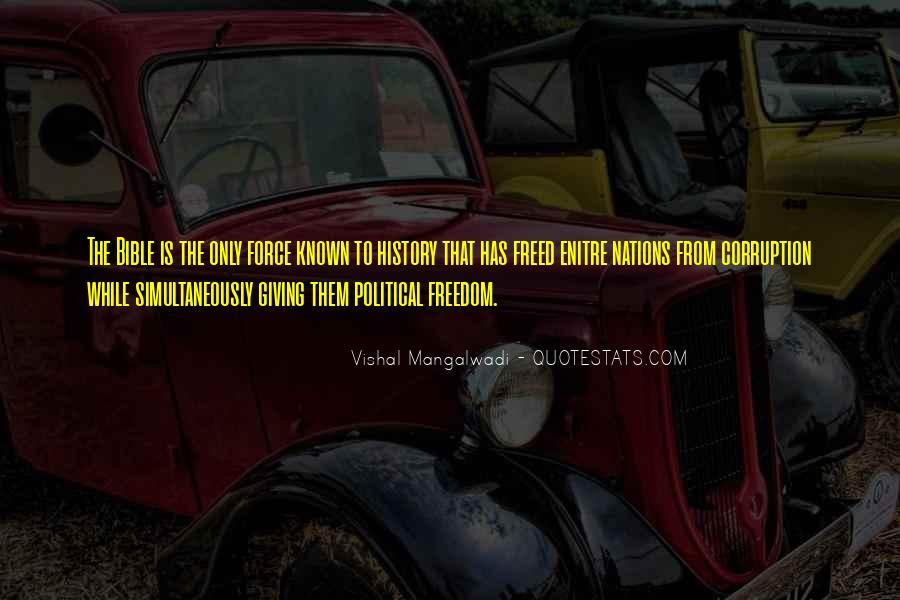 Vishal Mangalwadi Quotes #1171628
