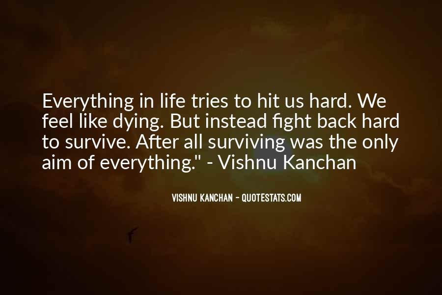Vishnu Kanchan Quotes #955566