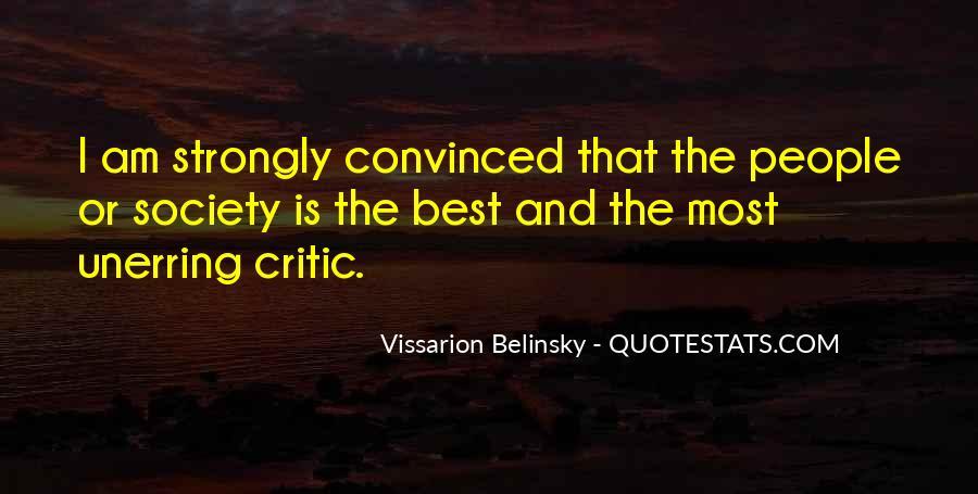 Vissarion Belinsky Quotes #1449328