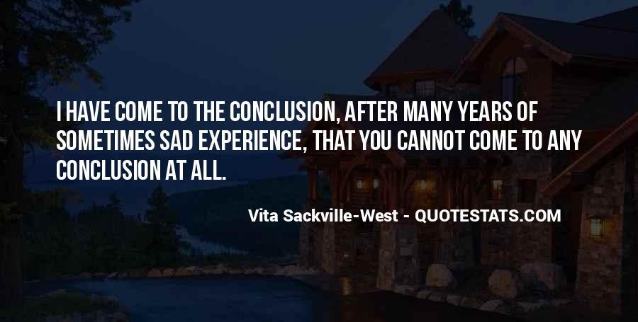 Vita Sackville-West Quotes #1163668