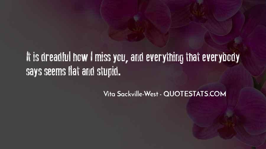Vita Sackville-West Quotes #1195922