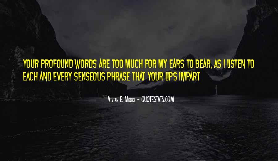 Vivian E. Moore Quotes #339396