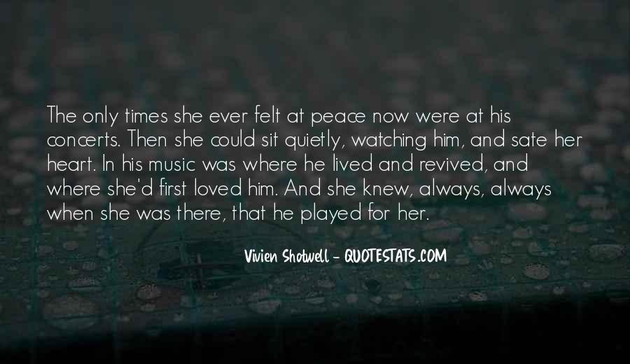 Vivien Shotwell Quotes #476329