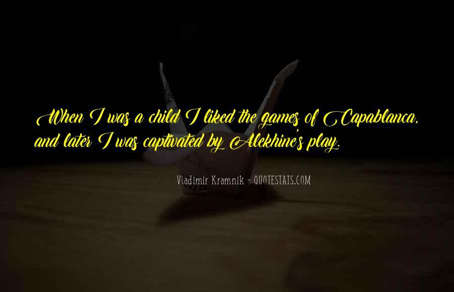 Vladimir Kramnik Quotes #126698