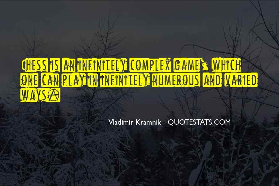 Vladimir Kramnik Quotes #1274786