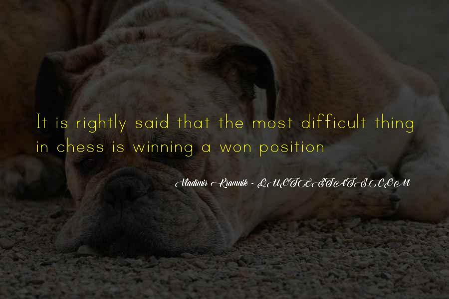 Vladimir Kramnik Quotes #1444580