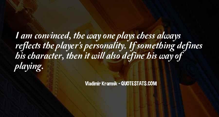 Vladimir Kramnik Quotes #1625351