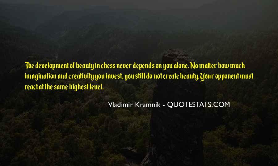 Vladimir Kramnik Quotes #1726924