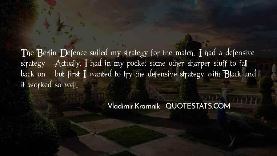 Vladimir Kramnik Quotes #1736693
