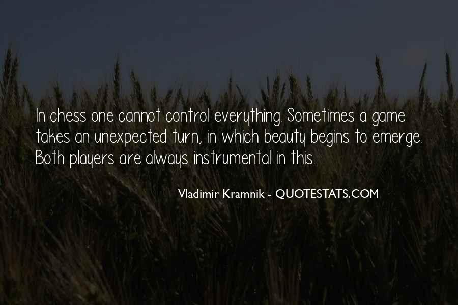 Vladimir Kramnik Quotes #1738727