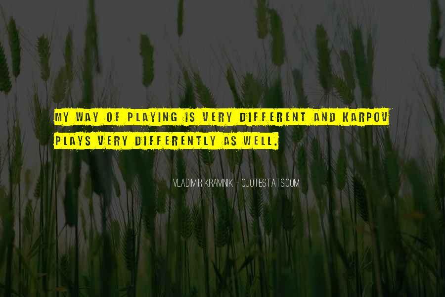 Vladimir Kramnik Quotes #183924