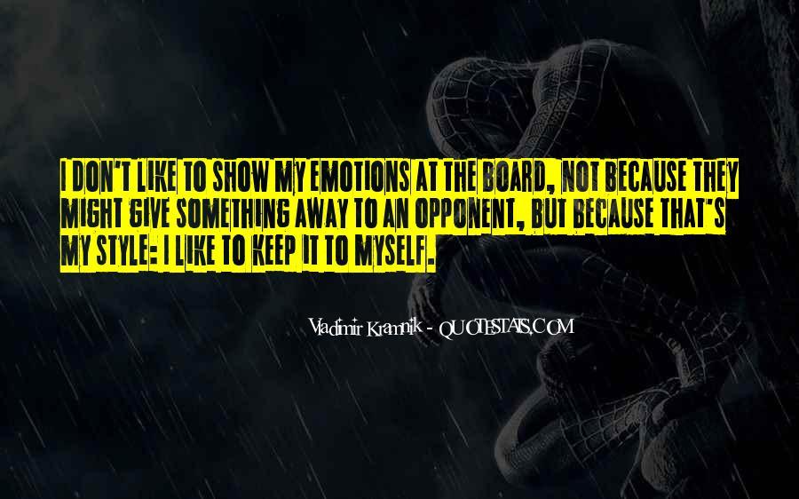 Vladimir Kramnik Quotes #1865142
