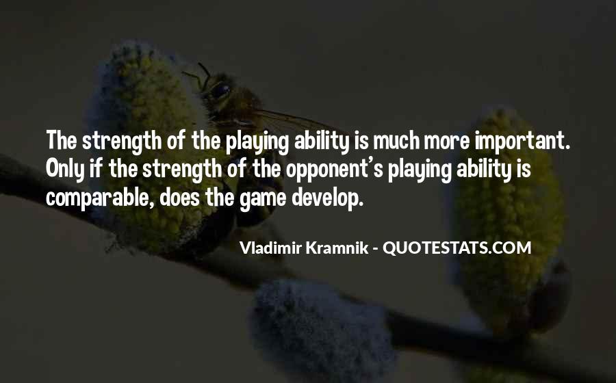 Vladimir Kramnik Quotes #302929